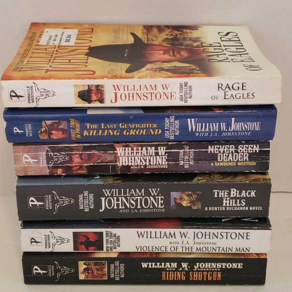 William W Johnstone western books #7